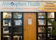 Welcome to Atmosphere Health Calgary Chiropractor