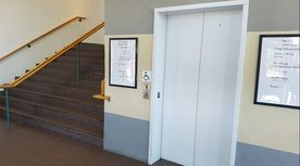 Entrance to Atmosphere Health, Calgary Chiropractor